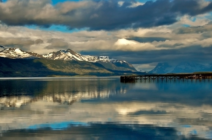 Puerto Natales, Magallanes. Patagonia Austral Chilena