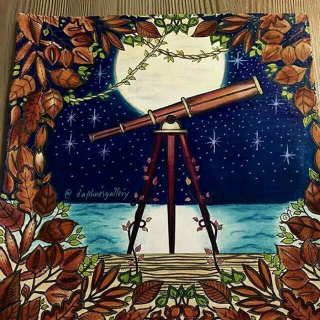 Telescope Enchanted Forest By Daphnesgallery