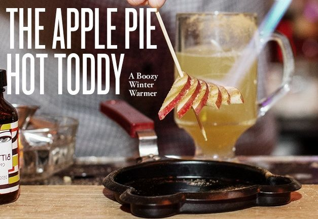 Apple Pie Hot Toddy with The Brunswick Mess Hall