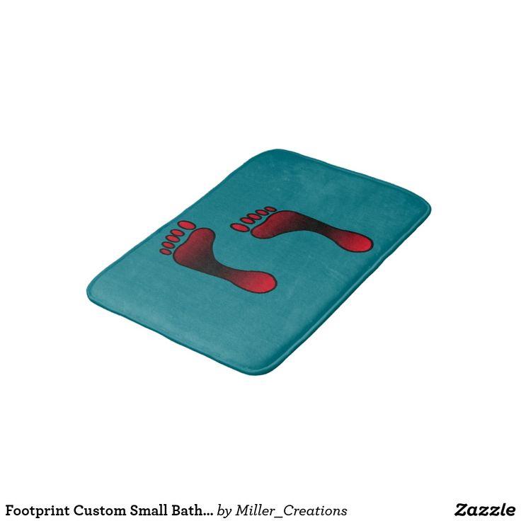 Footprint Custom Small Bath Mat