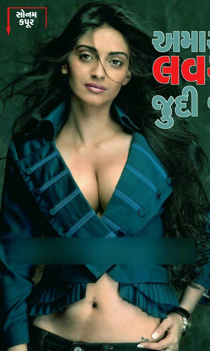 Sonam kapoor@the cleavage queen