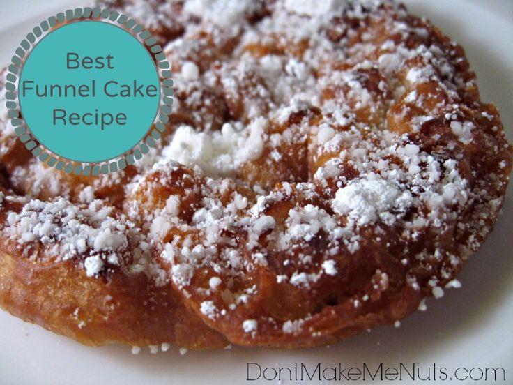 Best 25+ Homemade funnel cake ideas on Pinterest   Funnel ...