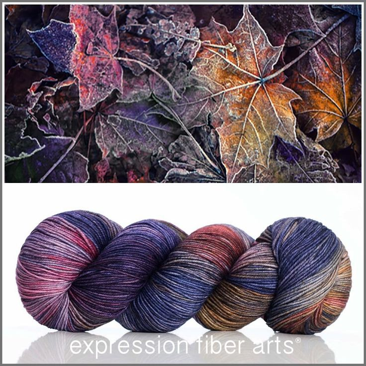 CRISP 'RESILIENT' SUPERWASH MERINO SOCK YARN - limited edition by Expression Fiber Arts