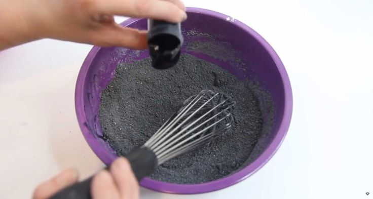 This DIY Black Bath Bomb Will Make You Too Scared to Ever Take a Bath Again