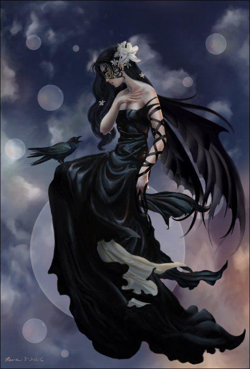 Nene Thomas Fairy http://nenethomas.com/mini-lithographs/dark-skies/
