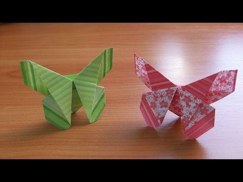 Простые Оригами Поделки БАБОЧКИ Для Открыток. Закладки. Как Сделать Быстро Своими Руками - YouTube