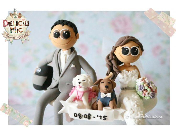 Figurine pentru tortul de nuntă