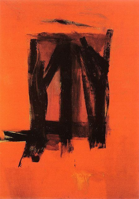 Franz Kline, Franz Kline - Red Painting - 1961 on ArtStack #franz-kline #art