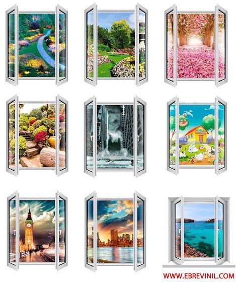 17 mejores ideas sobre vinilos ventanas en pinterest for Vinilos murales adhesivos