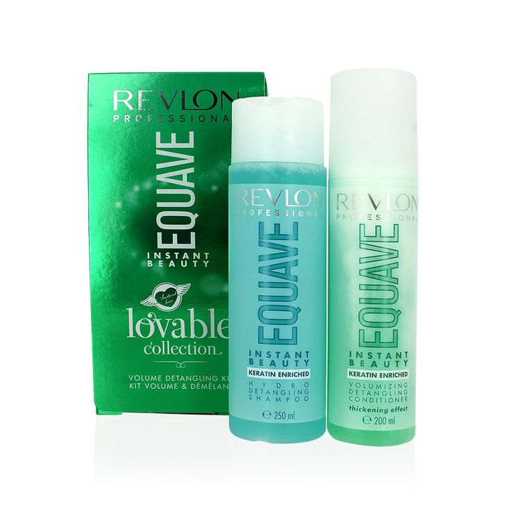 Découvrez le kit volume et démêlant Lovable Collection Equave de la marque Revlon