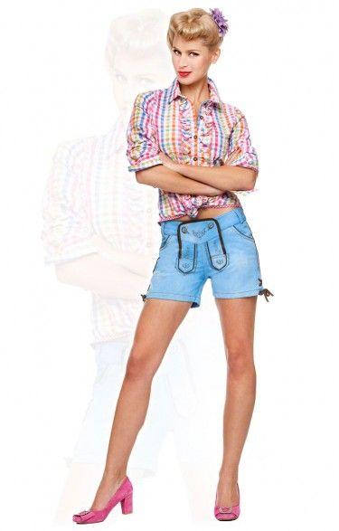 Traditional shorts Roxy sky
