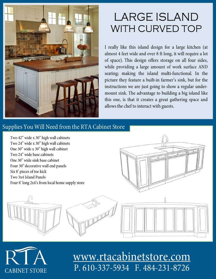Farmhouse Sink Ikea Cabinet ~ Building A Kitchen Island With Ikea Cabinets  WoodWorking Projects