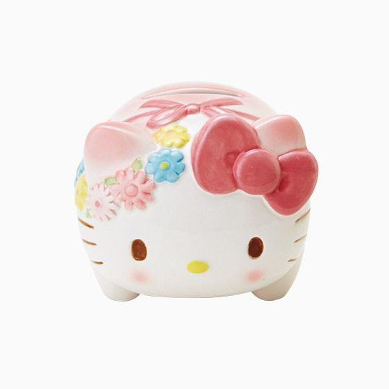 Hello Kitty coin bank (⌒-⌒; )