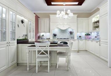Kto z nas nie lubi klasycznych #mebli #kuchennych? Wy też macie wrażenie jakbyście byli w zamku? http://www.vigomeble.pl/