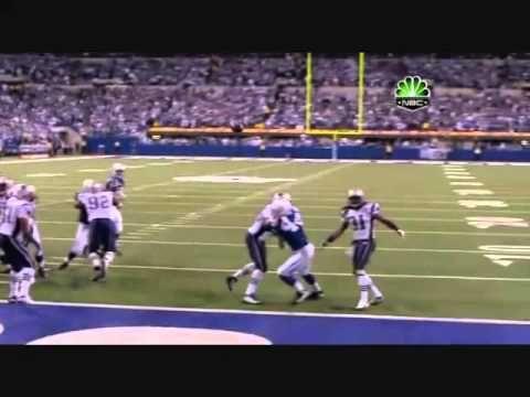 Colts vs patriots 2009 last 4 minutes