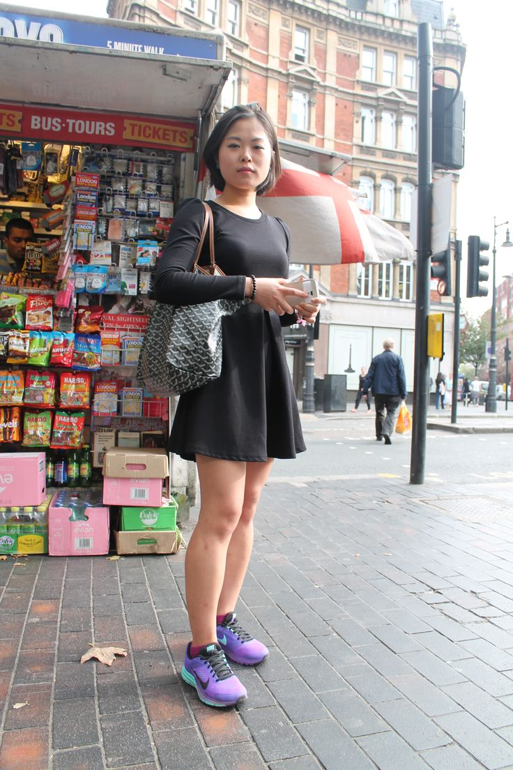 Understated Chic. #trainers #chic #London #colourful #nike #streetstyle