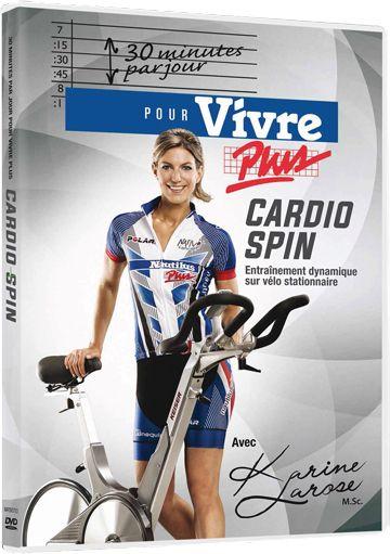 CARDIO SPIN: Entraînement dynamique sur vélo stationnaire