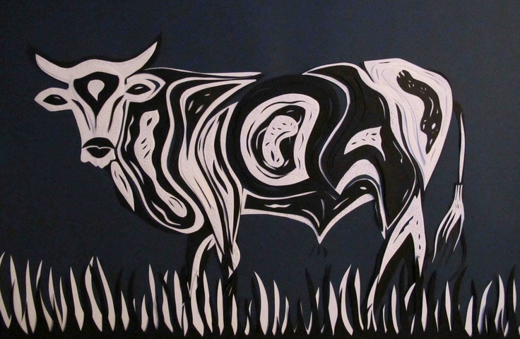 nguni paper cutting