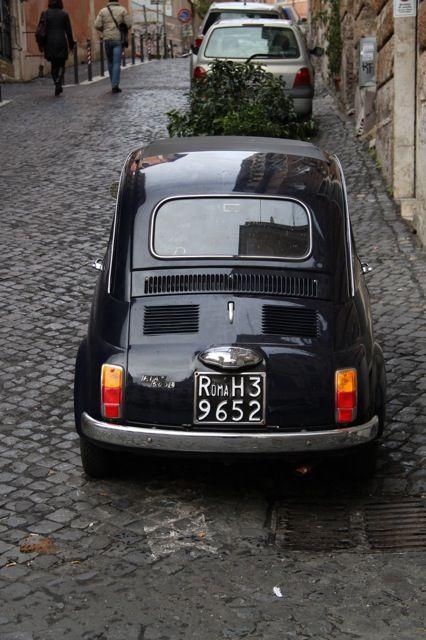Fiat 500, Rome, 2013.