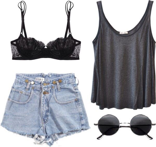 Replace the shorts with cuffed bf jeans or a flowy skirt and its perfect