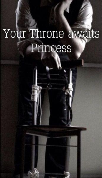 Your Throne awaits Princess.