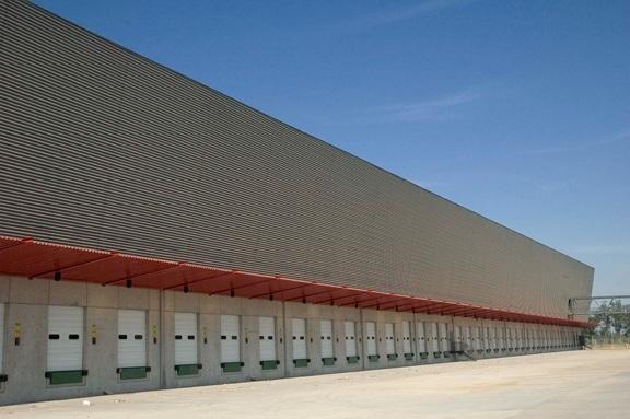 Centro de Distribución Ripley   Producto: Revestimientos Interiores de Muro   Miniwave  Programa: Fabrica