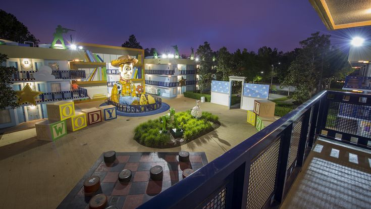Room With A View: Disney's All-Star Movies Resort | Disney Parks Blog