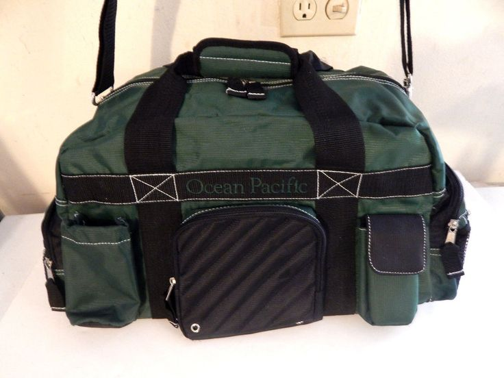 Ocean Pacific Heavy Duty 20 Duffle Gym Bag With Lots Of Pockets LN Condition