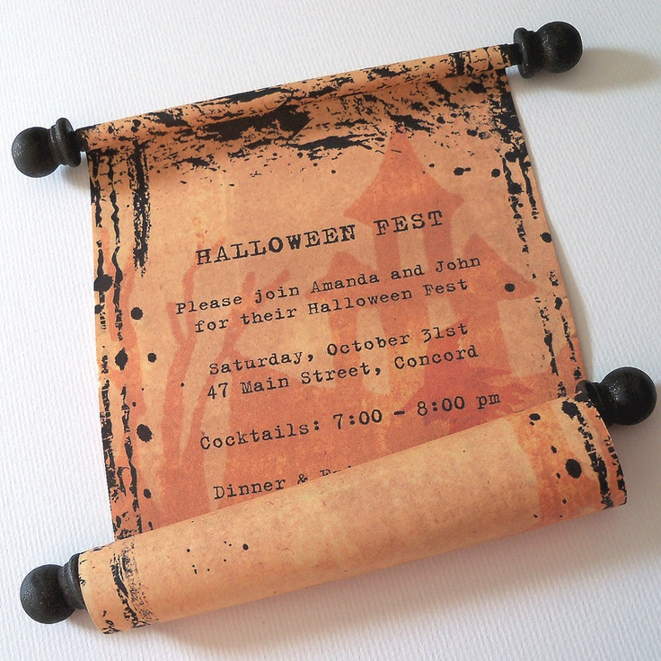 183 best Halloween invites images – Creative Halloween Party Invitations
