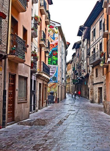 Herrería kalea, Vitoria-Gasteiz, Euskal Herria - Basque Country