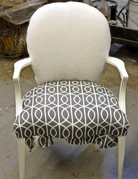 Recovering Chairs: Black Wood, Furniture Paintings, Paintings Chairs, Wood Frames