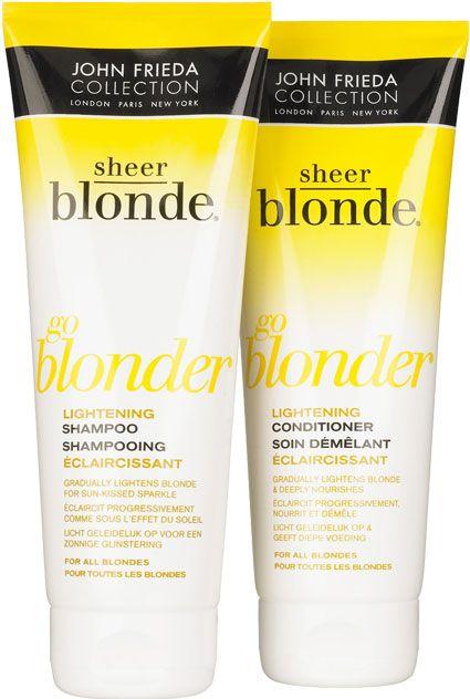 Sheer blonde by John Frieda