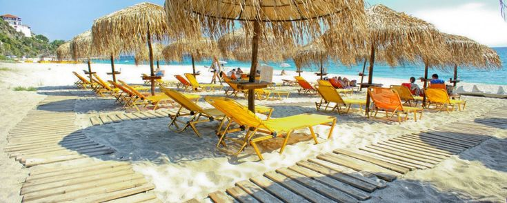 #papanero #pelion #ntelis #greeksun #sunbeds #greeksea