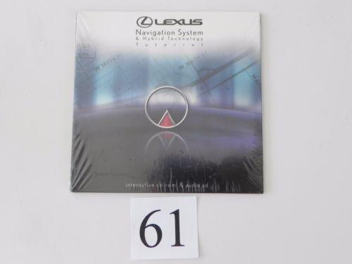 2007 LEXUS RX400 RX400H NAVIGATION SYSTEM HYBRID CD RADIO FACTORY OEM 260 #61