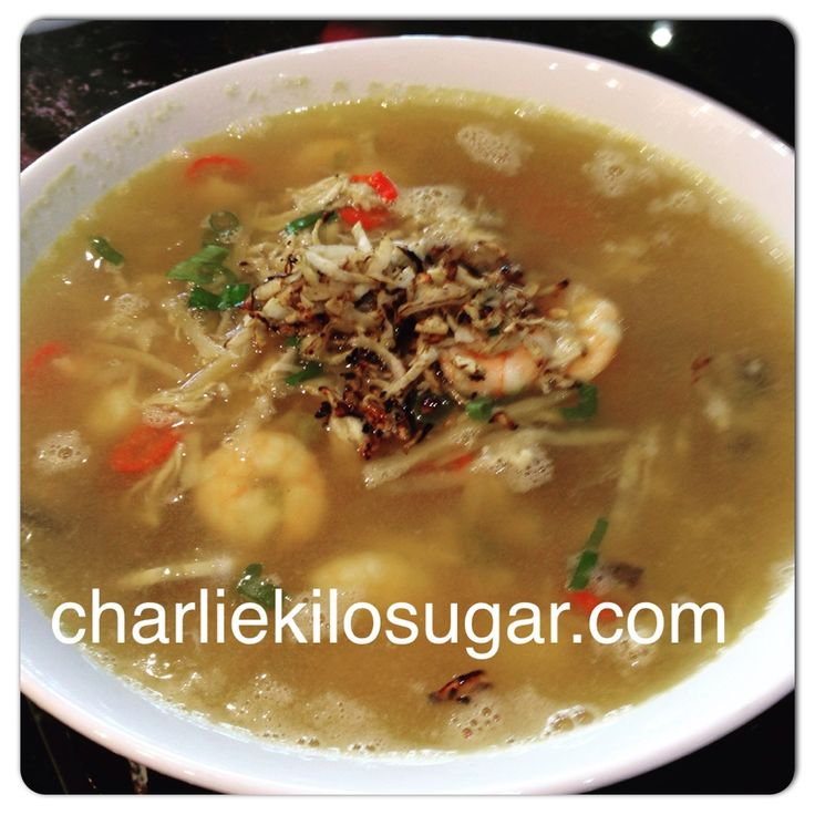 Chicken and Prawn Chilli Soup