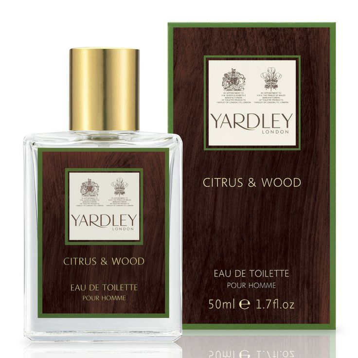 Yardley London Citrus & Wood Eau de Toilette for Men at Fendrihan.com