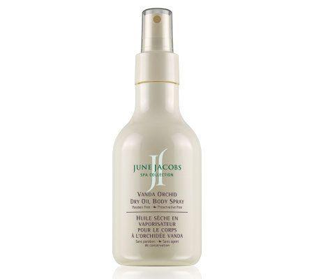 June Jacobs Vanda Orchid Dry Oil Body Spray, 6.7 oz