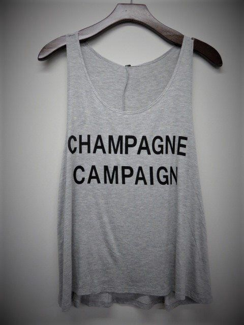930ea82fcefef Excited to share this item from my  etsy shop  Champagne Campaign Womens  Tank Top