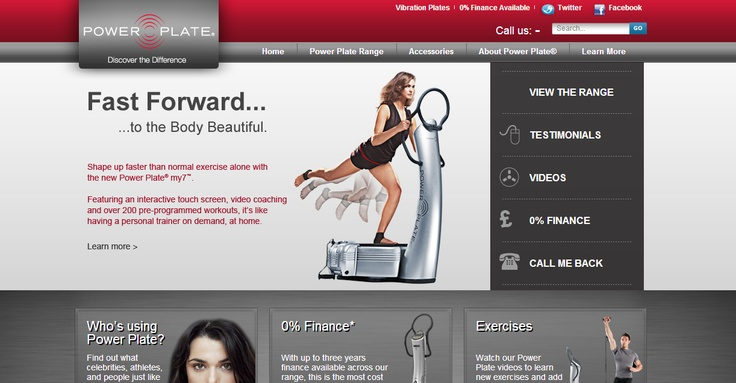 Zeal Create website build | Power Plate
