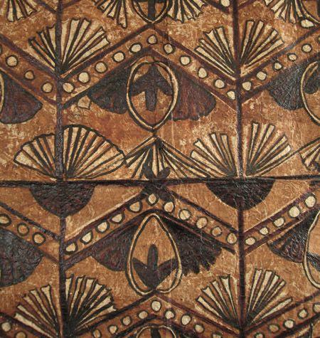 Tapa cloth, Samoa, detail  zenakruzick.com