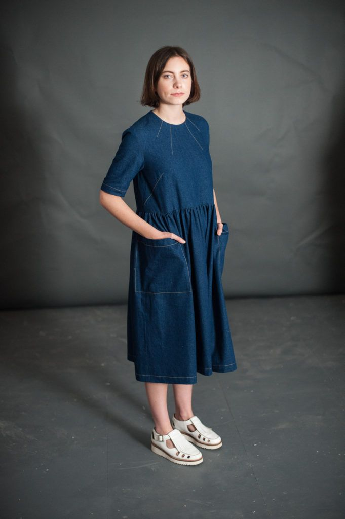 The Ellis & Hattie dress from Merchant and Mills  - find out more and read reviews of this pattern here