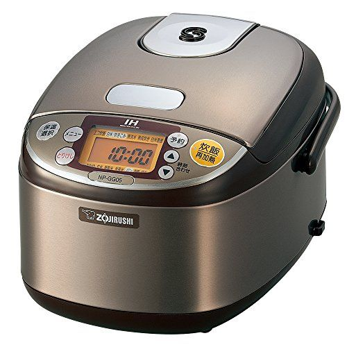 Zojirushi IH rice cooker 3 Go stainless Brown NP-GG05-XT >>> More details can be found by clicking on the image. #RiceCookers