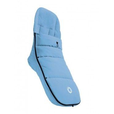 Heerlijk zacht en lekker warm is deze Bugaboo Voetenzak ijsblauw. Bestel jouw voetenzak op www.babyline.nl. #bugaboo #baby #must #haves