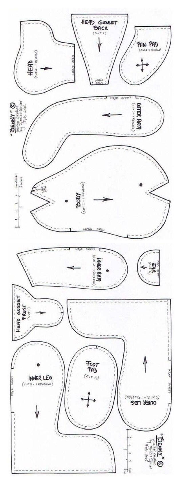 Teddy pattern