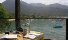 Che Legarto hostel, Ilha Grande, Brazil