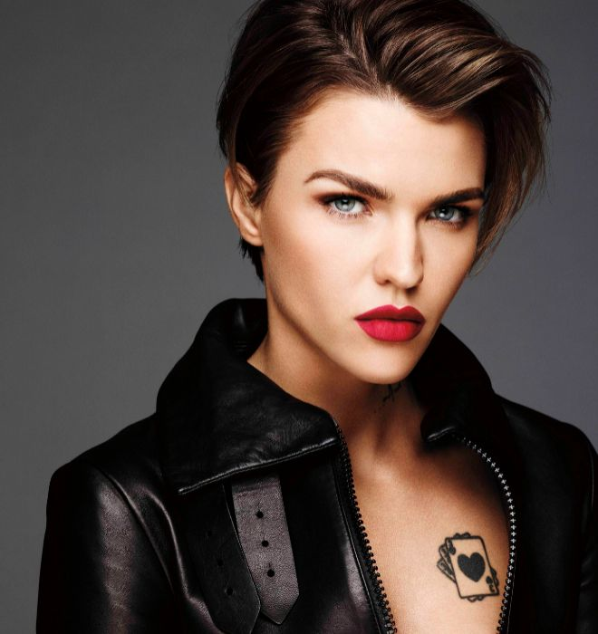 This human being, oh my god.  Ruby Rose                                                       …
