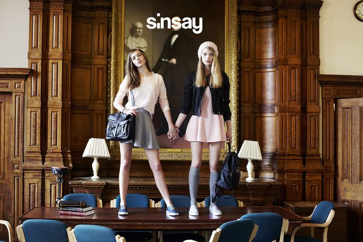 SiNSAY AW 2014 College Edition