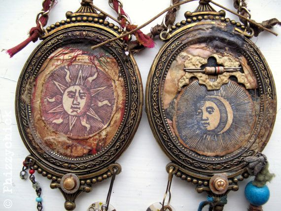 The Sun & The Moon by Phizzychick on Etsy, £52.00