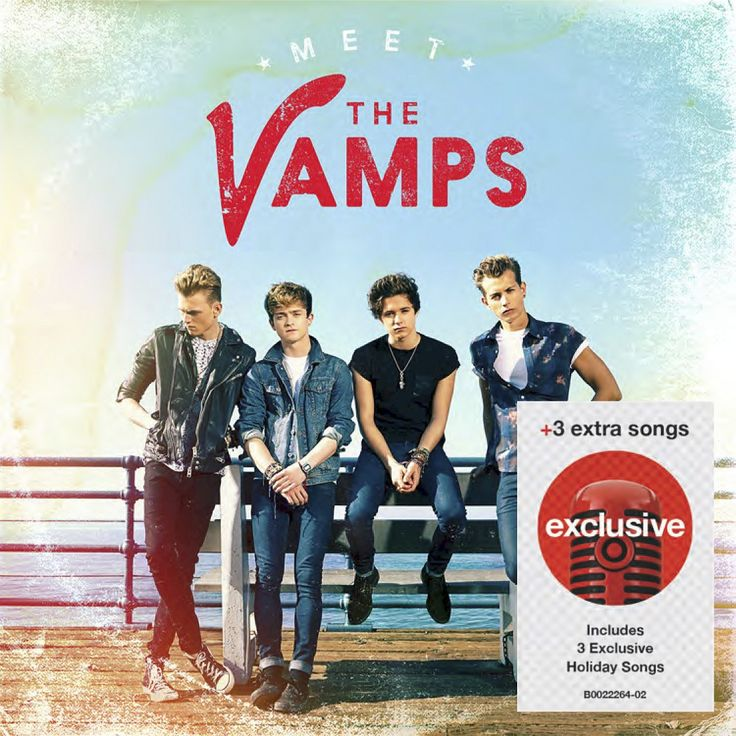 The Vamps - Meet The Vamps (Deluxe Edition) - Target Exclusive