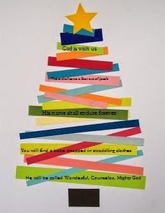 isaiah 9:6 craft for kids   Orthodox Christian Education: Christmas Bible Verse Craft